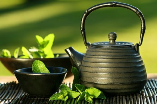 Japanischer Grüner Tee