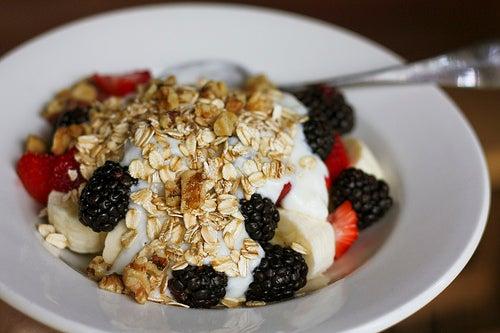 Zutaten für ein ideales frühstück