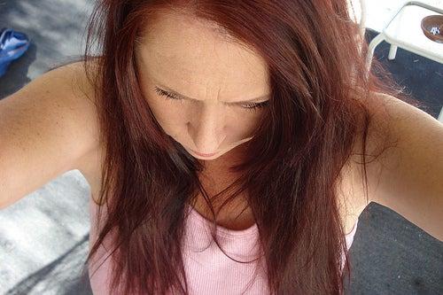 Trockenes-Haar