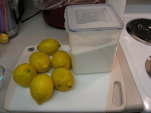 Zitrone-und-Zucker