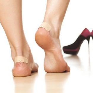Blasen an den Füßen behandeln