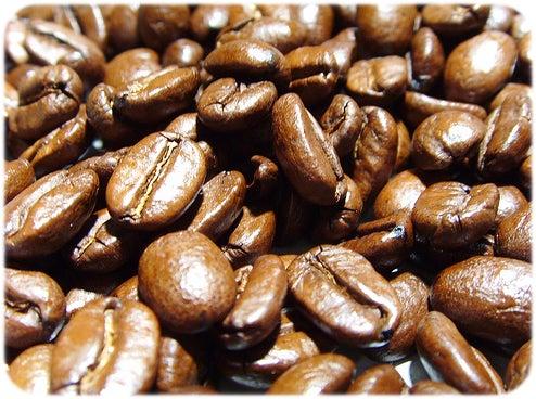 Viele Kaffeebohnen
