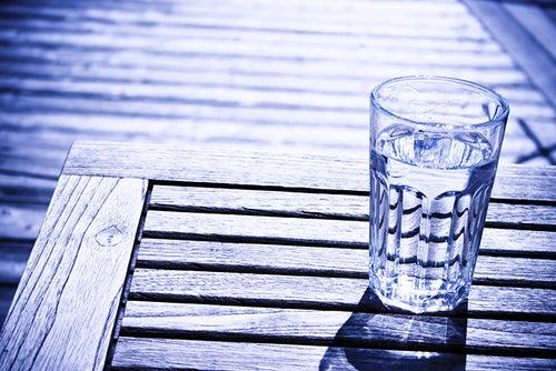 Viel Wasser trinken