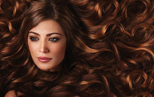 Haare mit olivenol behandeln