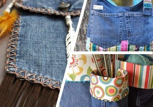 9 Ideen, alte Jeans zu nutzen