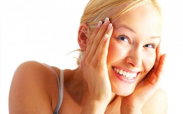 Gesichtsmasken gegen Hautflecken