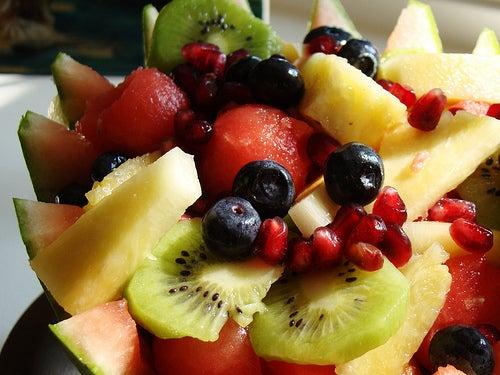 Obst und gemüse sind unentbehrlich um ein langes und gesundes leben