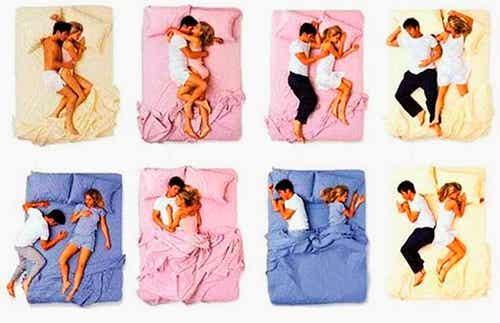 Was die Schlafposition über Beziehungen verrät