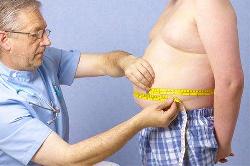 Übergewicht schadet der Hüfte