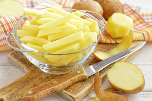 Kartoffel ist auch frittiert lecker