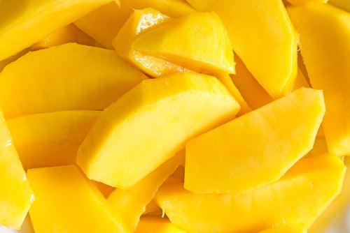 Mango und Ei gesunde Nahrungsmittelkombinationen