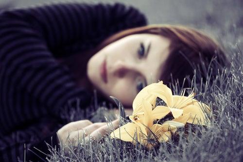 Niedergeschlagenheit und Traurigkeit