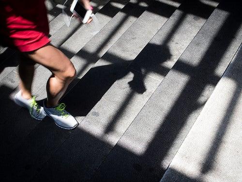 Warum Springen und Treppensteigen gesund sind
