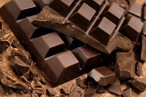 Zartbitterschokolade gegen Erschöpfung