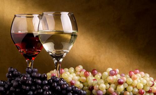 Feiertage und Wein
