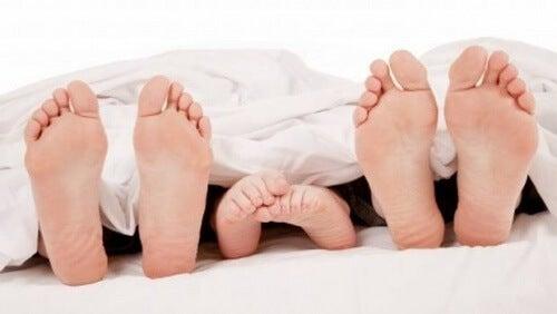 Schlaf Füße