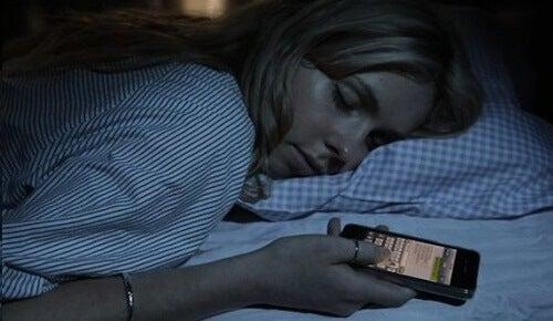 Schlaf Handy