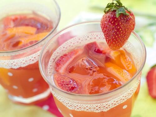 Erdbeersaft
