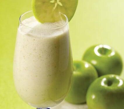 Smoothie mit grünem Apfel gegen Durchfall