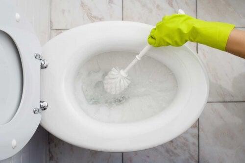 Umweltschonende Reinigung des Badezimmers