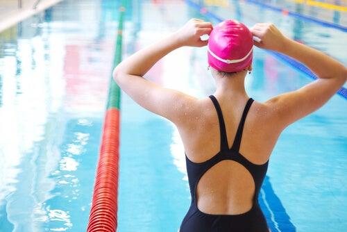 Schwimmen ist gesund für die Hüfte