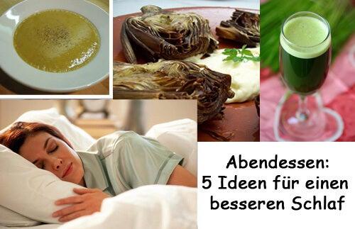 Abendessen: 5 Ideen für einen besseren Schlaf