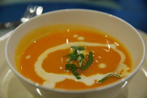 Kürbissuppe reduziert die Lust auf Süßes