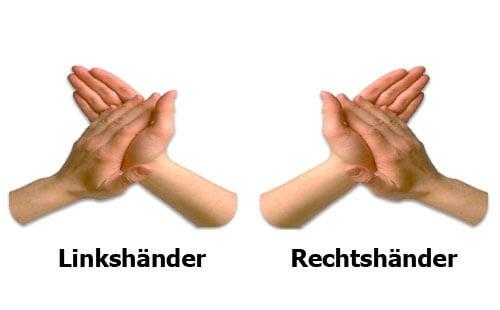 Linkshänder oder Rechtshänder? Was ist deine dominante Lateralität?