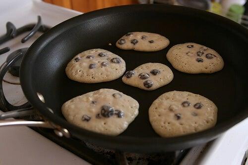 Eisenpfannen für Pfannkuchen