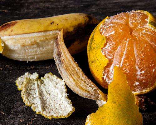 Bananen- und Orangenschalen nicht wegwerfen!