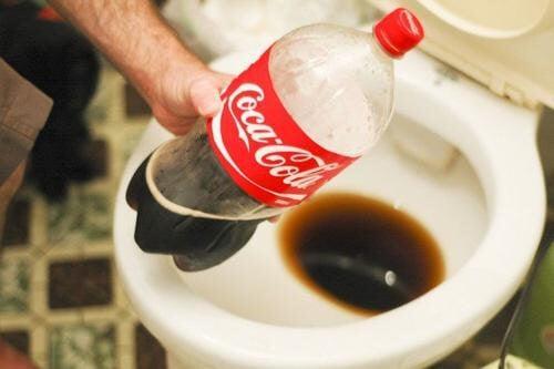 Bildergebnis für cola als putzmittel