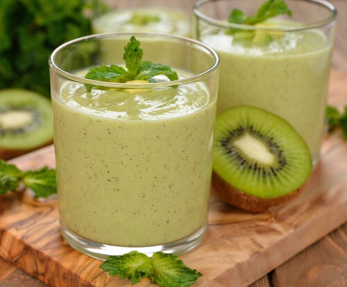 Grüne-Getränke