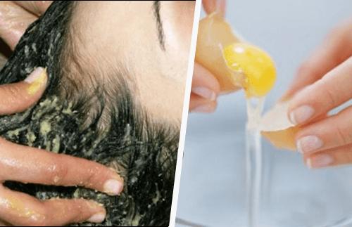 Wie kann man die Haare mit Eigelb waschen?
