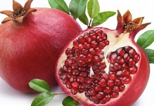 Granatapfel zur Reinigung verstopfter Arterien