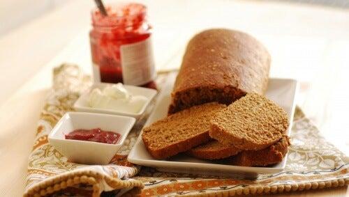 Mit Brot abnehmen?