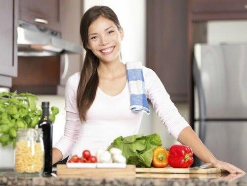Frau-in-der-Küche