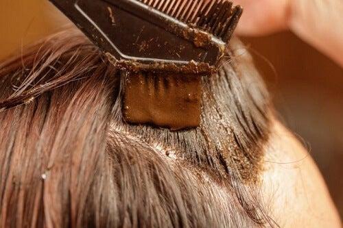 Henna gegen graue Haare