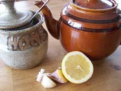 Knoblauchtee trinken und Zubereitung