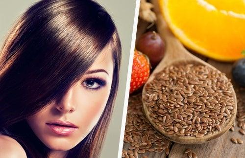 Mit Leinsamen Haarspülung und Haargel selbst herstellen