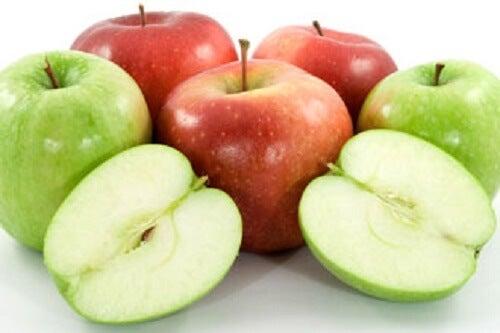 Positive Eigenschafen von Äpfeln