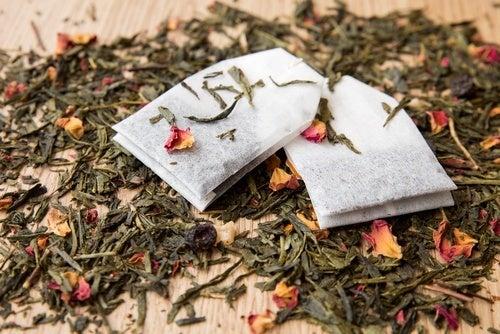 Tee gegen Fußgeruch
