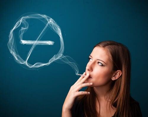 früher in den Wechseljahren durch Tabak