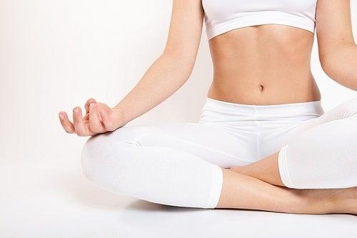 Yogaübung Entspannende Musik-500x333