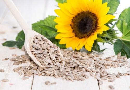 Sonnenblumenkerne enthalten gesunde Öle
