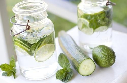 Wirksames Getränk zur Reinigung des Körpers