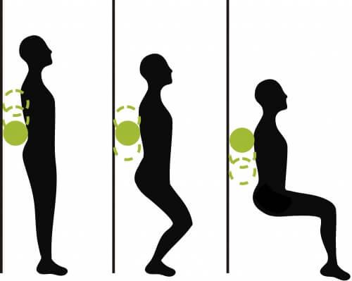 Gymnastik gegen Gelenkschmerzen