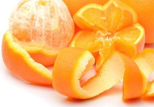 Orange-Schale