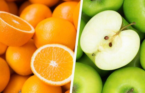 Orangen-Apfel-Saft
