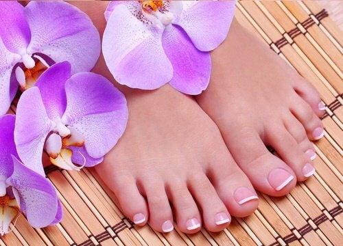 Schöne Füße durch Fußmassage