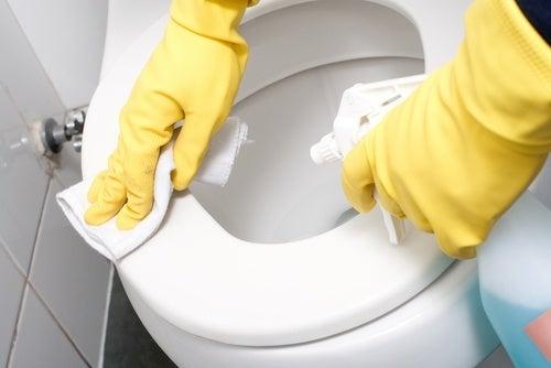 Toilette-reinigen
